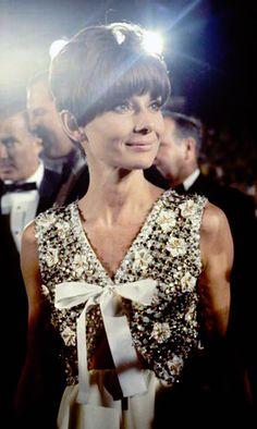 Rare Audrey Hepburn — rareaudreyhepburn: Audrey Hepburn at the 40th...