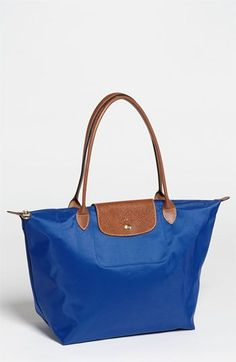 Longchamp Le Pliage Large Tote available at #Nordstrom. Airplane carry on. I need this for all my traveling this summer