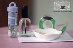 DIY Glitter Polish