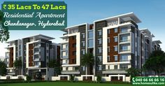 """#2bhk, #3bhk flats for sale in #ChandaNagar on Homesulike.com Size: 1255 - 1655 Sq.ft Prize: 35Lacs To 47Lacs For more details click on http://www.homesulike.com/index.php/projects/viewdetails/Concrete-Melody Call us 040-66666616 for site visit. """"Hit like and share if you are interested in this property."""""""