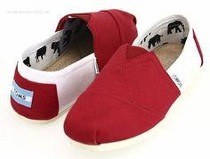 Womens Toms Stitchouts Red White Toms stitchouts are great to wear for style, for fun or for your favorite sports and activities that you enjoy. You can find them at our toms outlet store in the styles, colors, and sizes that you are looking for.
