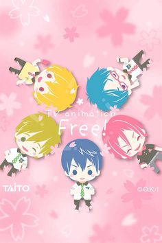 Free! Iwatobi Swim Club | I don't own the picture, credits to the owner of the picture! ^-^