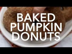 You've got to make this Baked Pumpkin Donut Recipe! They're the most light and fluffy donuts that are perfect with your morning coffee! Pumpkin Donut Recipe Baked, Baked Pumpkin, Donut Recipes, Pumpkin Recipes, Keto Recipes, Cupcake Cakes, Cupcakes, Doughnuts, Morning Coffee