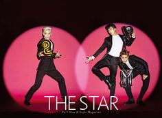 Jun.K, Chan Sung and Woo Young - The Star Magazine October Issue '14