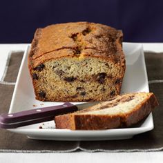 Judy's Chocolate Chip Banana Bread Recipe from Taste of Home -- shared by Debra Keiser of St. Cloud, Minnesota