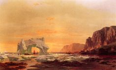 """The Archway"" by William Bradford"