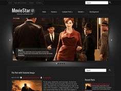 Free and Premium WordPress Themes :: Best of SMThemes Perfect Red Lips, Movie Website, Wordpress Template, Blogger Templates, Premium Wordpress Themes, Movie Stars, Brows, Cool Girl, Makeup Looks