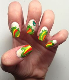 Beth's Nails Tiny Wings #nail #nails #nailart