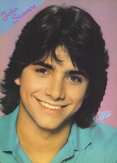 """Teen Heartthrob, John Stamos.  He showed up as Uncle Jesse later, on the TV show """"Full House"""".  I was madly in love with him!"""