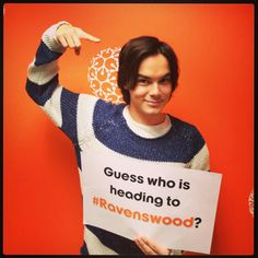 Caleb is going to Ravenswood!!!! That's so cool!!!! And so sad...