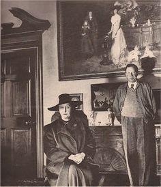 "Bill Brandt ""The Enchanted Third Eye"": Dame Edith Sitwell & Sir Osbert Sitwell."