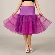 a220ef99458b 2016 Fuschia Petticoat Summer Dress Mini A Line Skirts Crinoline Underskirt  Tutu Skirts Petticoats For Wedding Dress
