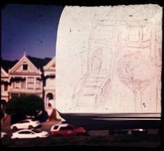 Sketching in San Fransisco