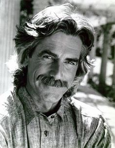 Sam Elliot.  I keep him on my eyecandy board, but for those who wander onto this one, well, wouldn't it be lovely to watch him installing your floor? :)))