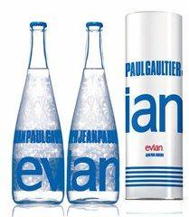 Evian sacará a subasta cinco botellas de agua - Hoy Digital