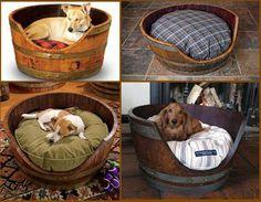 DIY: Cat & Dog's Beds.  Beautiful