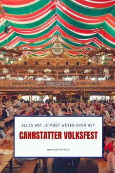 Alles wat je moet weten over het Cannstatter Volksfest in Stuttgart - www. Europe Travel Tips, Germany Travel, All Over The World, Travel Inspiration, Beautiful Places, City, Lost, Stuttgart, Everything