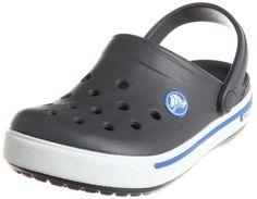 Crocs Crocband II.5 Clog (Toddler/Little Kid),Charcoal/Sea Blue,12-13 M US Little Kid crocs http://www.amazon.com/dp/B006VA2W0Y/ref=cm_sw_r_pi_dp_TcOnvb1M4JENG