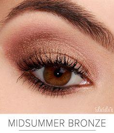 Bronze Eye Makeup สวยจับตา ออร่าแผ่กระจาย