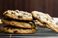Vegan Chocolate Chip Cookies by Oh She Glows