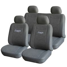 Furnistar 8-Piece Soft Velvet Car Vehicle Protective Seat Covers