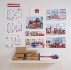 RMCAD Interior Design // By Alia Bien
