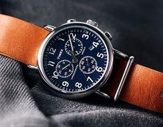 Timex Weekender Chronograph Blue Dial