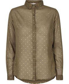 Jade dot skjorte fra Neo Noir – Køb online på Magasin.dk - Magasin Onlineshop - Køb dine varer og gaver online pid=VA04417619-02571209_061 null