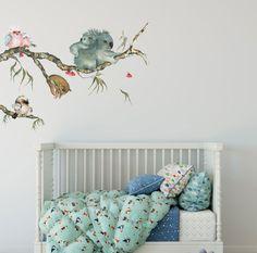 Cute Australian Animals, Australian Nursery, Nursery Wall Stickers, Removable Wall Stickers, Wall Decals, Nursery Room Decor, Kids Bedroom, Bedroom Wall, Nursery Ideas