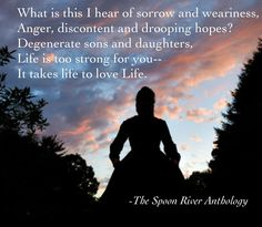 spoon river anthology online