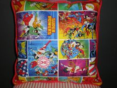 Justice League Pillow by GoughGoodies on Etsy