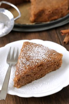 Gluten free spice cake makes a warm and wonderful addition to your Thanksgiving table. The scent of it baking up is completely irresistible!
