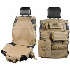 Seat Cover Organizer with Muti Compartments