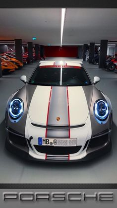 The Porsche 911 is a truly a race car you can drive on the street. It's distinctive Porsche styling is backed up by incredible race car performance. Porsche Gt3, Porsche Cars, Volkswagen, Lamborghini, Maserati, Bugatti, Ferrari, Carros Audi, Porche 911