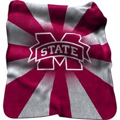 Mississippi State Bulldogs Sherpa Throw Blanket, Team