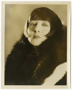 Mae Busch (1891-1946). Australian film actress who worked in both silent and…