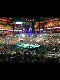 20,000 Apostolic young people worshipping Jesus at North American Youth Congress!!! KFC Yum Center in Louisville, KY, August 7-9, 2013