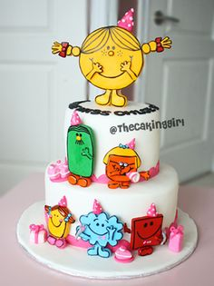 Mrmenlittlemisscakejpg  Pixels Birthdays  Baby - Little miss birthday cake