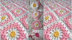 How Crochet a Daisy Blanket