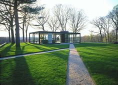 Philip Johnson, Glass House, 1949