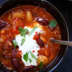 Magisches Chili sin Carne (Vegetarisches Chili) - Kochkarussell