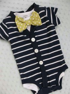 So cute! Little gentleman outfit