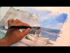 Painting Watercolours with Fabio Cembranelli in Spain