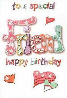 ♡☆ Happy Birthday To A Special Friend! ☆♡