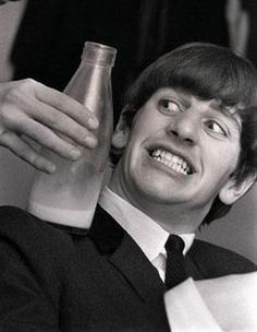 Ringo Starr- scrawniest and fanciest of the young Beatles to my mind. In the best way.