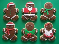 Gingerbread Men Cookies for Christmas