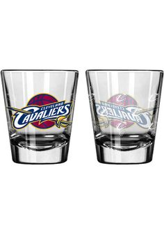 Cleveland Cavaliers Satin Etch Shot Glass