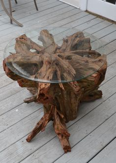 Wow Tree Trunk Table For Sale At Petersham Nurseries