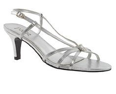 Image for Lotus Strappy Diamante Detail Sandals