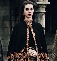 Reign Cast, Beauty Contest, Adelaide Kane, High Fantasy, Wearing Black, Style, Medieval, Coachella, Mad